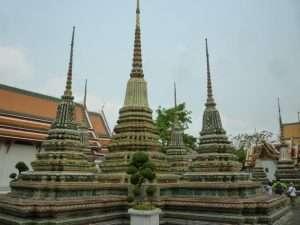 wat pho stupa decorati