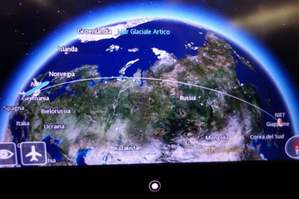 tragitto in aereo