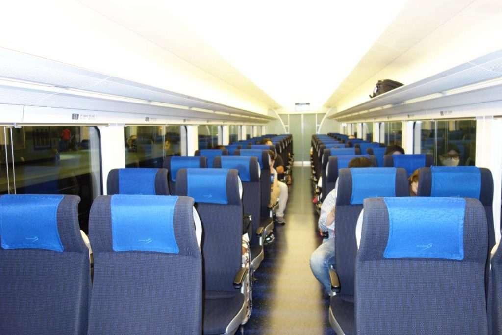 treno veloce per Tokyo