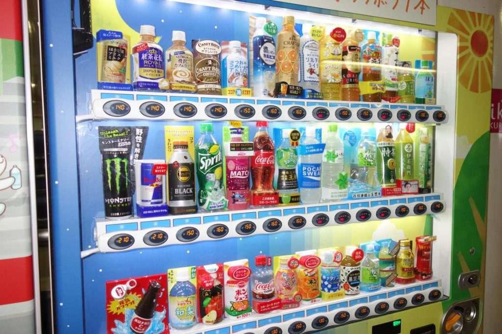 Tokyo distributori automatici