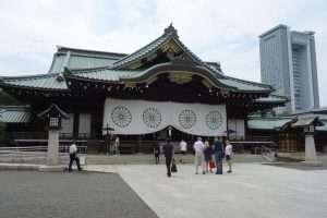 Yasukuni shrine di Tokyo