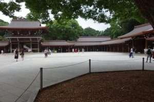 Meijii sanctuary Tokyo