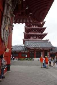 Pagoda a Senso-ji Tokyo