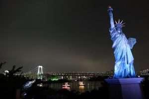 Liberty Statue Tokyo