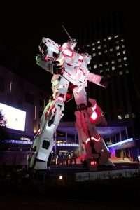 Gundam Robot a Odaiba Tokyo