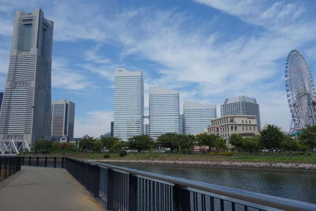 Grattacieli a Yokohama