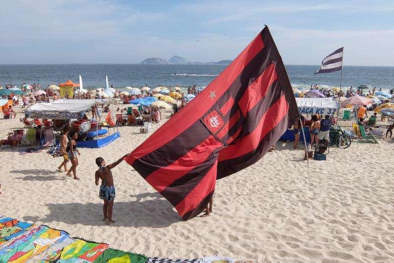 Bandiera della squadra di calcio di Rio