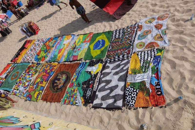 parei in spiaggia a Ipanema