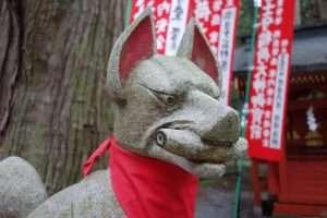 Inari volpe divinità scintoista