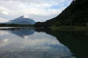 Monte Fuji e lago Shoji