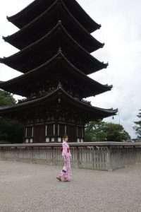 Pagoda del tempio Kofuku-ji a Nara