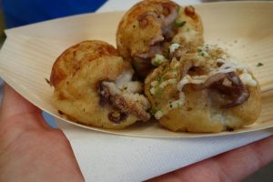 Takoyaki frittelle di polipo Osaka