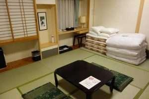 Camera hotel a Kyoto