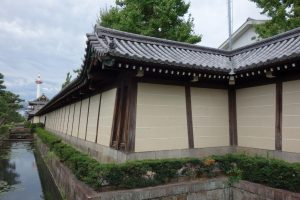 Higashihonganji mura del tempio a Kyoto