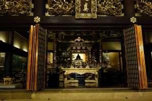 Interno tempio Higashihonganji a kyoto
