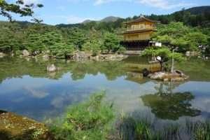 Kinkaku-ji padiglione d'oro