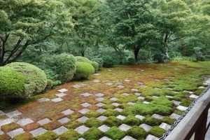 Giardino zen al Tofuku-ji tempio di Kyoto
