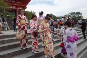 Abiti tradizionali giapponesi