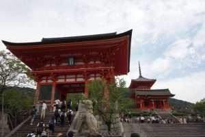 Kiyomizu dera tempio di Kyoto