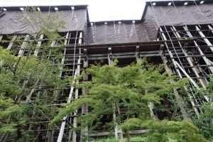 Kiyomizu dera tempio a Kyoto