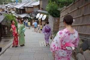 Nineizaka stradina a Kyoto