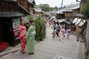 Nineizaka a Kyoto
