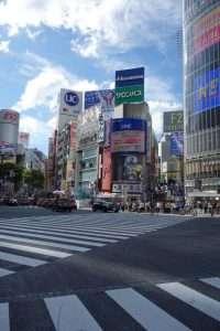 Shibuya incrocio Tokyo