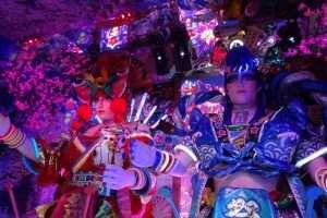 Kabukicho quartiere notturno di Tokyo