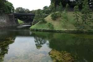 Parco del palazzo imperiale a Tokyo