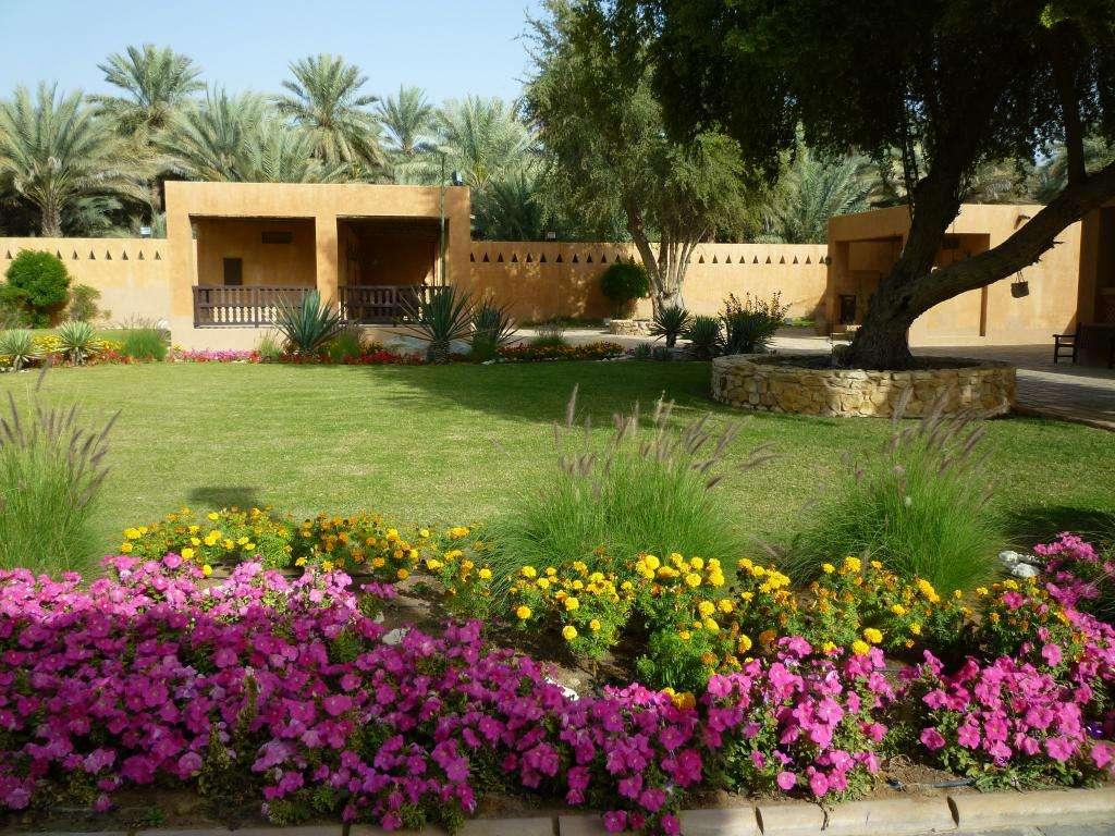 giardini di Al Ain palace