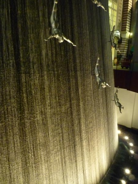 Cascata nel Dubai Mall