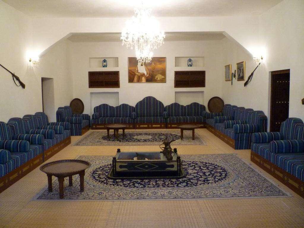 Interni del museo di Al Ain