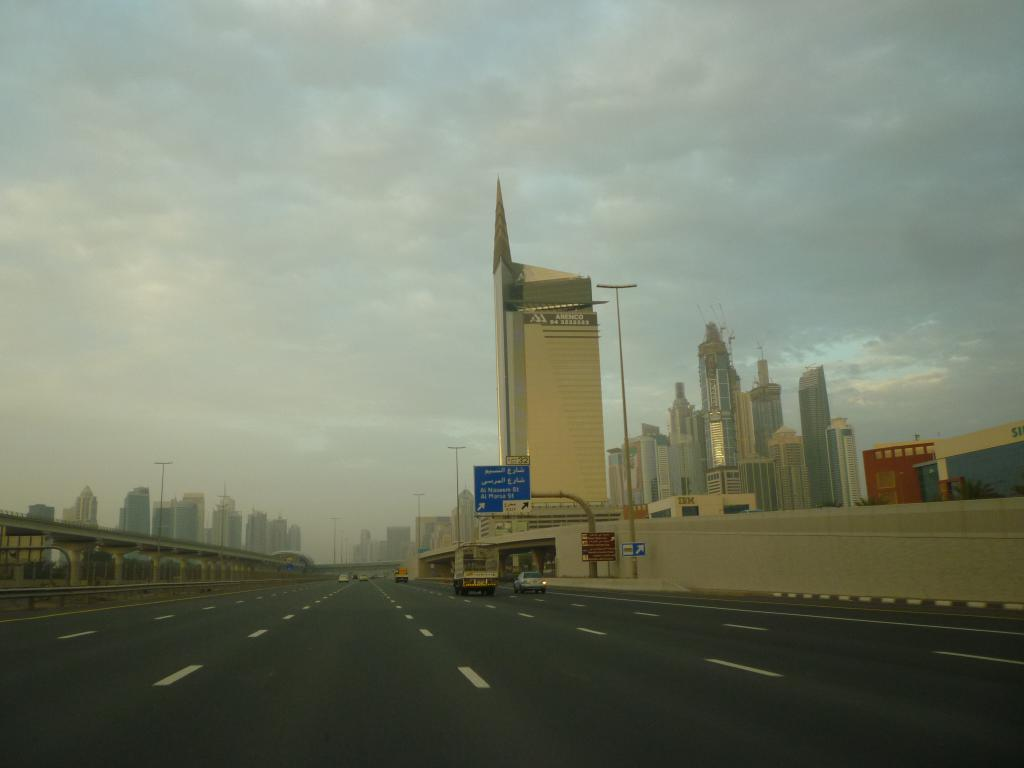 Sheyk Zayed road