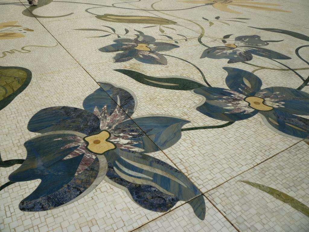 mosaici di marmo