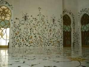 mosaici e decorazioni interni