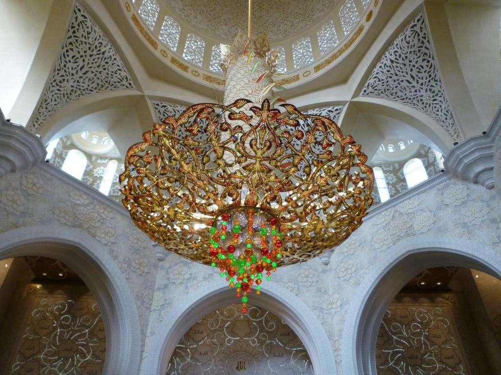 Lampadario centrale con cristalli