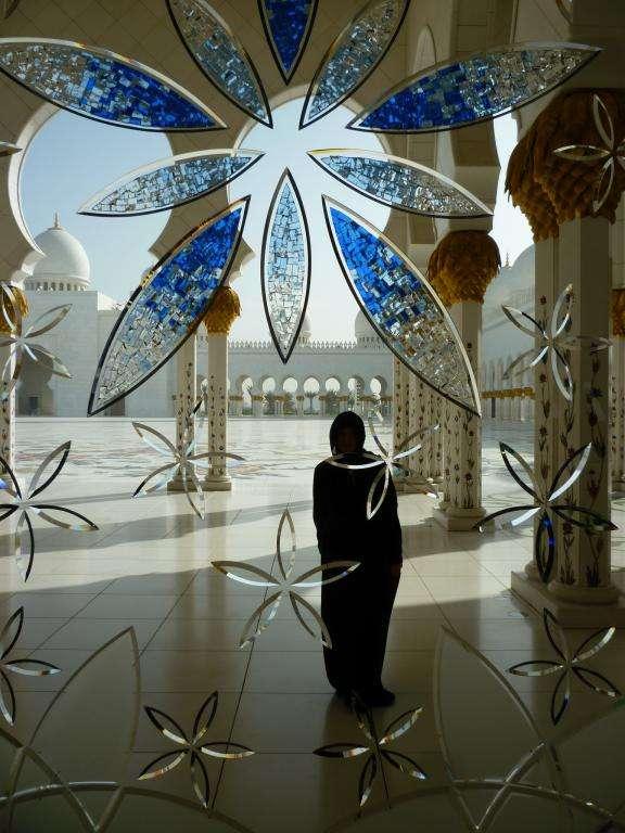 vetrata della moschea