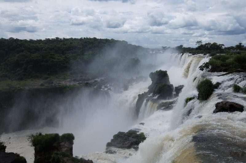 Cascate Iguazù in Argentina