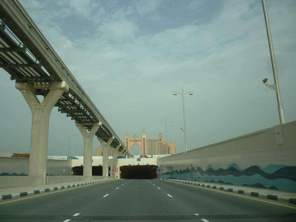 Tunnel per raggiungere l'Atlantis