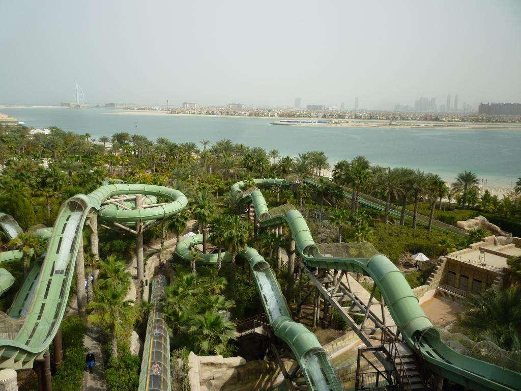 Vista dall'Atlantis su Dubai