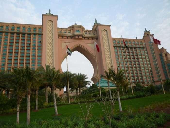 Hotel Atlantis Jumeirah palm