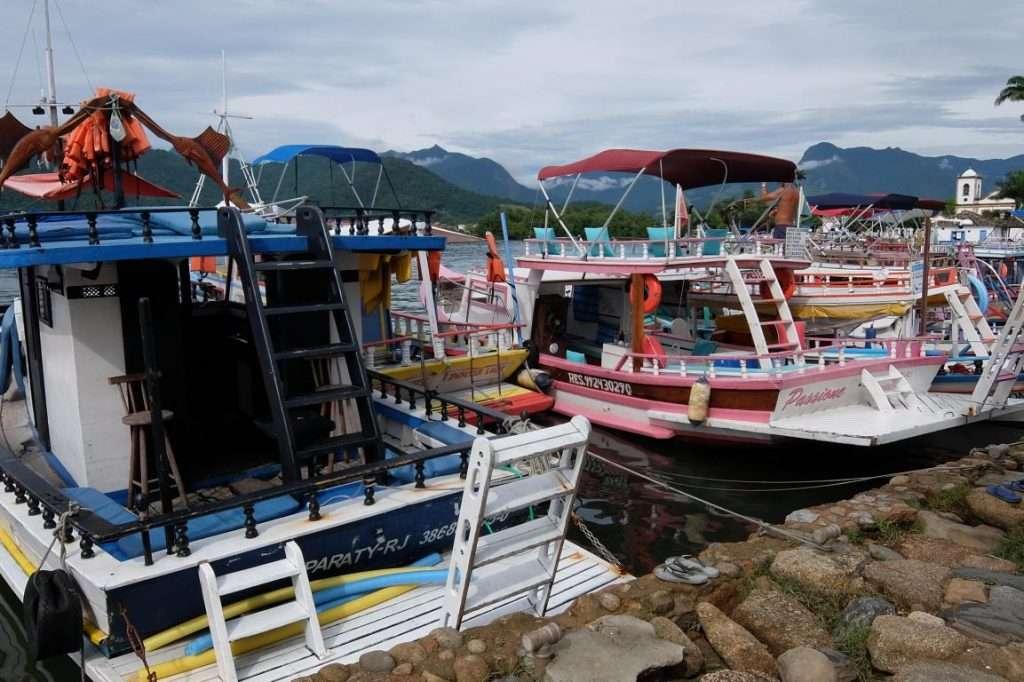Paraty barche tipiche
