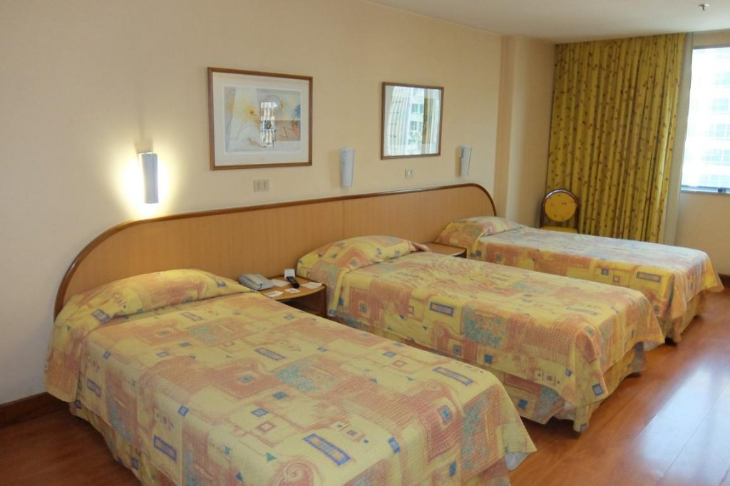 Camera hotel a Rio