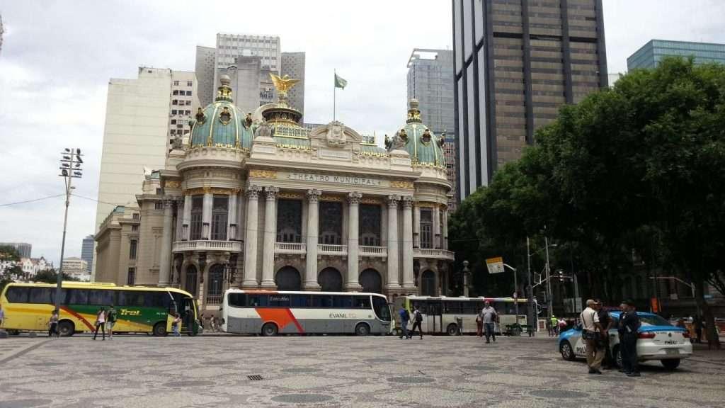 Teatro municipal a Rio