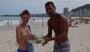 Caipirinha a Copacabana