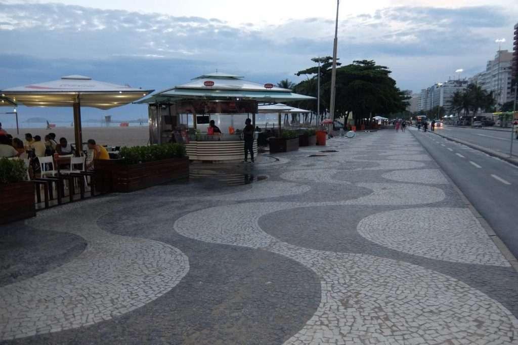 mosaico del marciapiede