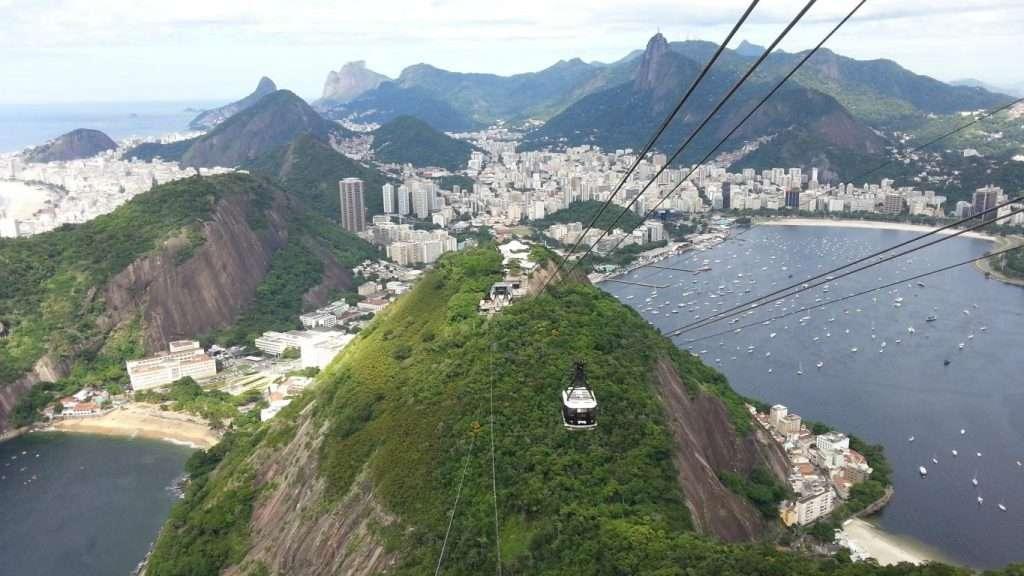Vista su Rio dal Pan di Zucchero