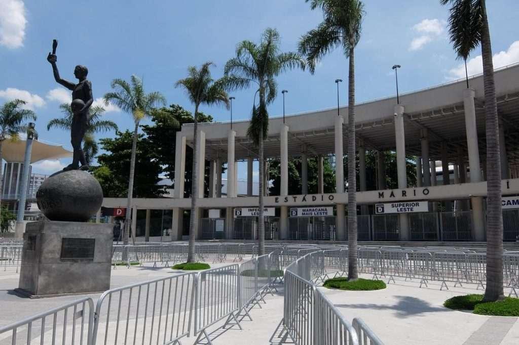 Stadio Maracana' entrate