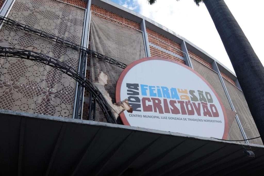 Feira de Sao Cristovao entrata