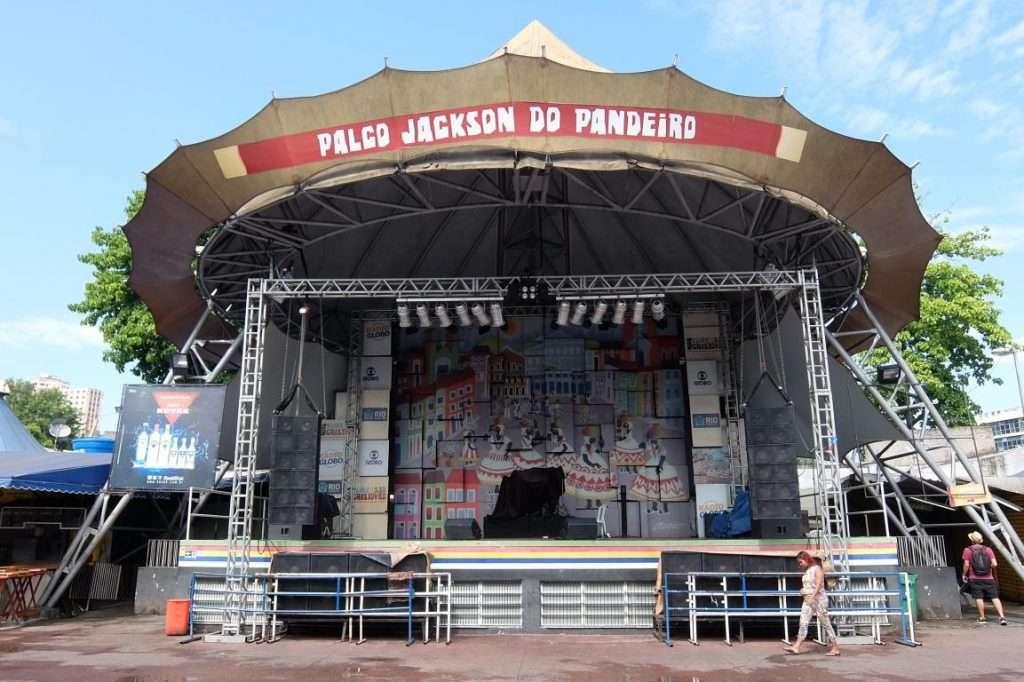 Palco nella Feira de Sao Cristovao